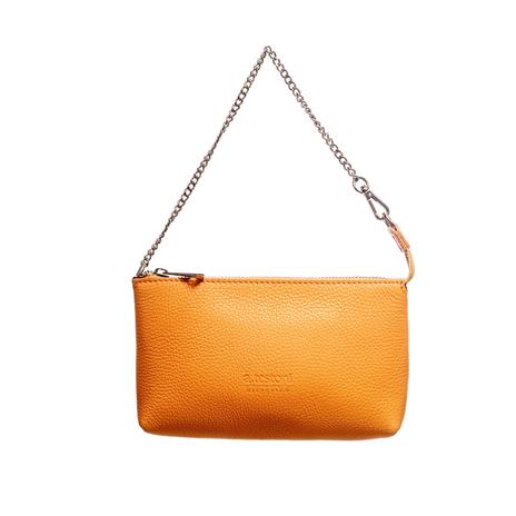 Клатч женский A.TESTONI Цвет:оранжевый Артикул:0166087 1