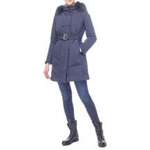 Пальто женское  Цвет:синий Артикул:0661099 2