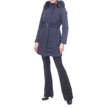 Пальто женское  Цвет:синий Артикул:0661100 2