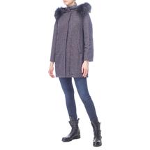 Пальто женское  Цвет:синий Артикул:0661107 2