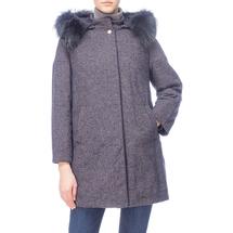 Пальто женское  Цвет:синий Артикул:0661107 1