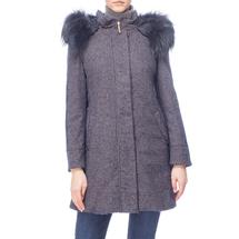 Пальто женское  Цвет:синий Артикул:0661108 1
