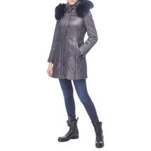 Пальто женское  Цвет:серый Артикул:0661130 2
