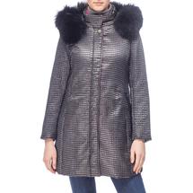Пальто женское  Цвет:серый Артикул:0661130 1