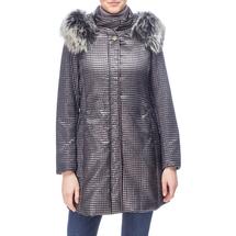 Пальто женское  Цвет:серый Артикул:0661131 1