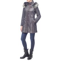 Пальто женское  Цвет:серый Артикул:0661131 2
