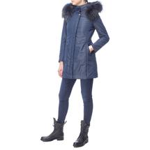 Пальто женское  Цвет:синий Артикул:0661132 2