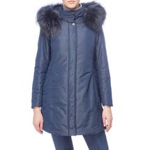 Пальто женское  Цвет:синий Артикул:0661132 1