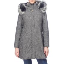 Пальто женское  Цвет:серый Артикул:0661135 1