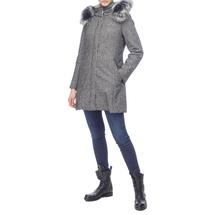 Пальто женское  Цвет:серый Артикул:0661135 2