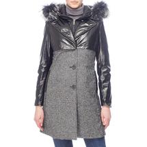 Пальто женское  Цвет:черный Артикул:0661139 1