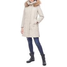 Пальто женское  Цвет:бежевый Артикул:0661143 2
