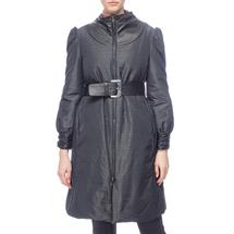 Пальто женское  Цвет:черный Артикул:0661148 1