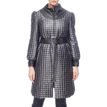 Пальто женское  Цвет:серый Артикул:0661149 1