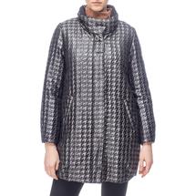 Пальто женское  Цвет:серый Артикул:0661150 1