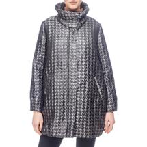 Пальто женское  Цвет:серый Артикул:0661151 1