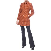 Пальто женское  Цвет:оранжевый Артикул:0661199 2
