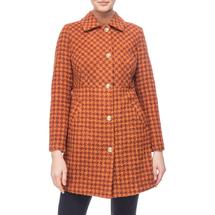 Пальто женское  Цвет:оранжевый Артикул:0661199 1