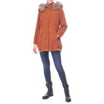 Пальто женское  Цвет:оранжевый Артикул:0661201 2