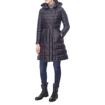 Пальто пуховое женское  Цвет:черный Артикул:0661114 2