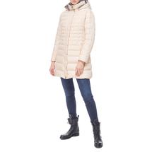 Пальто пуховое женское  Цвет:бежевый Артикул:0661254 2