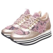 Кроссовки женские  Цвет:розовый Артикул:0261668 1