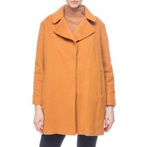 Пальто женское  Цвет:оранжевый Артикул:0661259 1