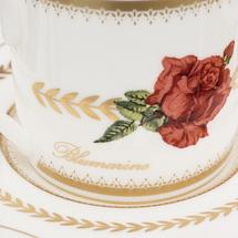 Набор кофейный 6 предметов  Цвет:красный Артикул:1700845 2