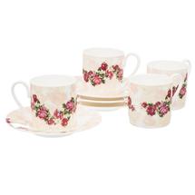 Набор кофейный 8 предметов  Цвет:розовый Артикул:1700825 1