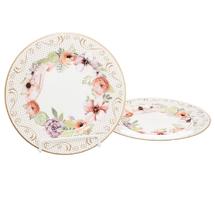 Набор тарелок 2 предмета  Цвет:розовый Артикул:1700827 1