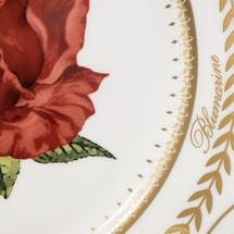 Набор тарелок 4 предмета  Цвет:красный Артикул:1700846 2