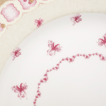 Набор тарелок 5 предметов  Цвет:розовый Артикул:1700822 2