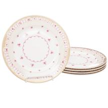 Набор тарелок 5 предметов  Цвет:розовый Артикул:1700822 1