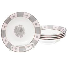 Набор тарелок 5 предметов  Цвет:серый Артикул:1700823 1