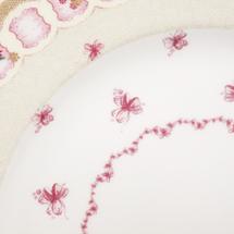 Набор тарелок 6 предметов  Цвет:розовый Артикул:1700737 2