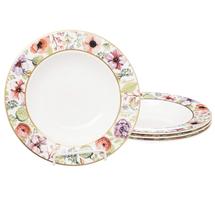 Набор тарелок глубоких 4 предмета  Цвет:розовый Артикул:1700828 1