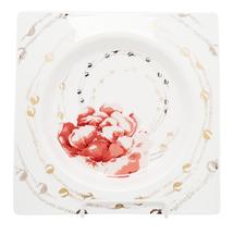 Тарелка квадратная  Цвет:красный Артикул:1700824 1