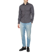 Сорочка мужская  Цвет:серый Артикул:0977127 2
