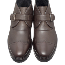 Ботинки мужские  Цвет:коричневый Артикул:0359382 2