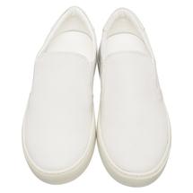 Слипоны мужские  Цвет:белый Артикул:0359418 2
