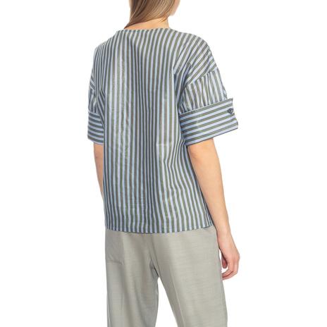 Блуза женская TELA Цвет:голубой Артикул:0577937 3
