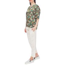 Рубашка женская  Цвет:хаки Артикул:0577965 2