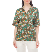 Рубашка женская  Цвет:хаки Артикул:0577965 1