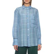 Рубашка женская  Цвет:голубой Артикул:0577966 1