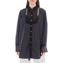 Рубашка женская  Цвет:черный Артикул:0577967 1