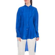 Рубашка женская  Цвет:синий Артикул:0577968 1