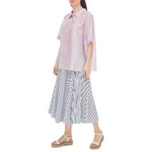 Рубашка женская  Цвет:сиреневый Артикул:0577972 2