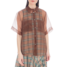 Рубашка женская  Цвет:коричневый Артикул:0578006 1