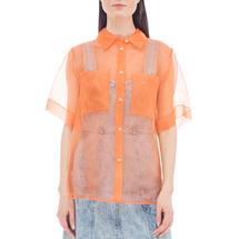 Рубашка женская  Цвет:оранжевый Артикул:0578006 1