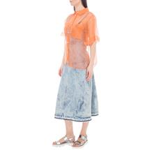 Рубашка женская  Цвет:оранжевый Артикул:0578006 2